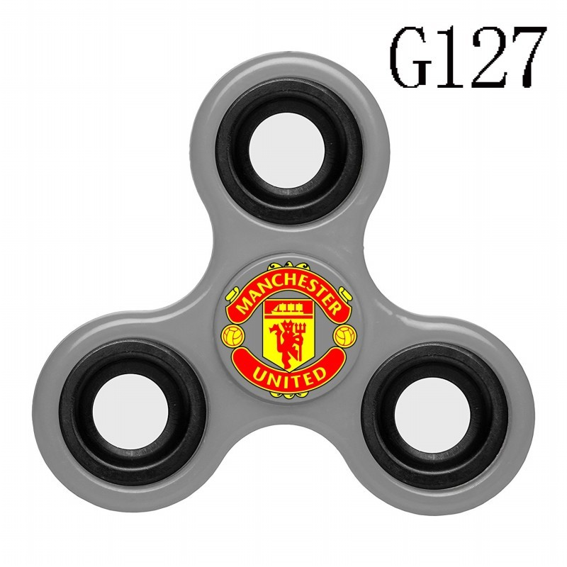 Manchester United Team Logo Gray 3 Way Fidget Spinner