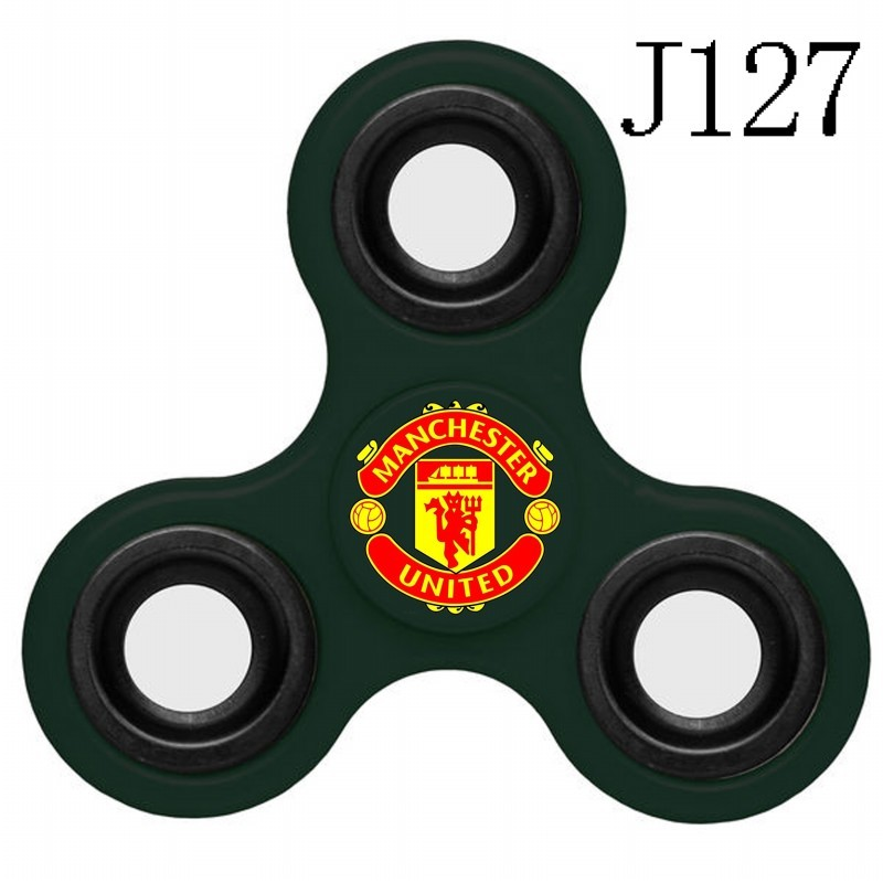Manchester United Team Logo Green 3 Way Fidget Spinner