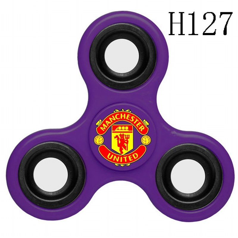 Manchester United Team Logo Purple 3 Way Fidget Spinner