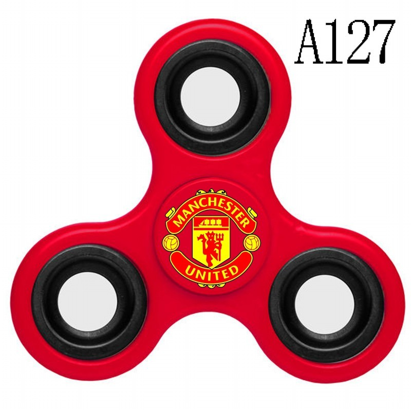 Manchester United Team Logo Red 3 Way Fidget Spinner