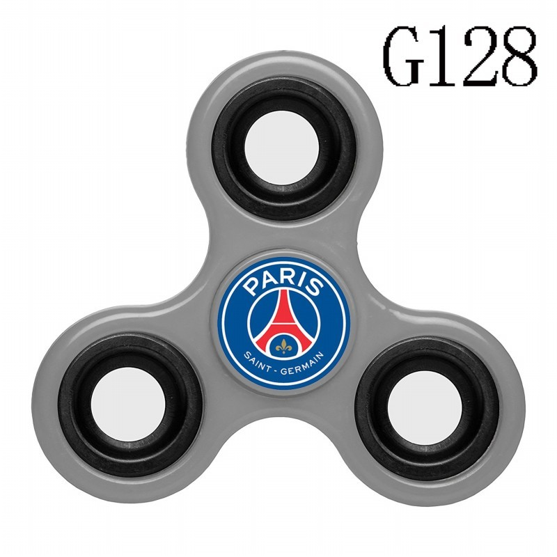 Paris Saint-Germain Team Logo Gray 3 Way Fidget Spinner