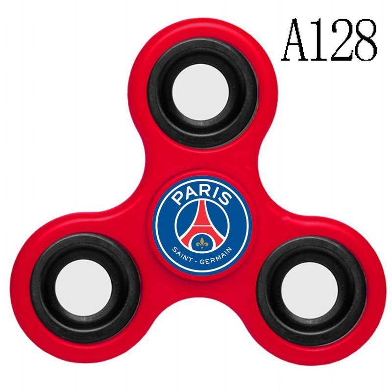 Paris Saint-Germain Team Logo Red 3 Way Fidget Spinner