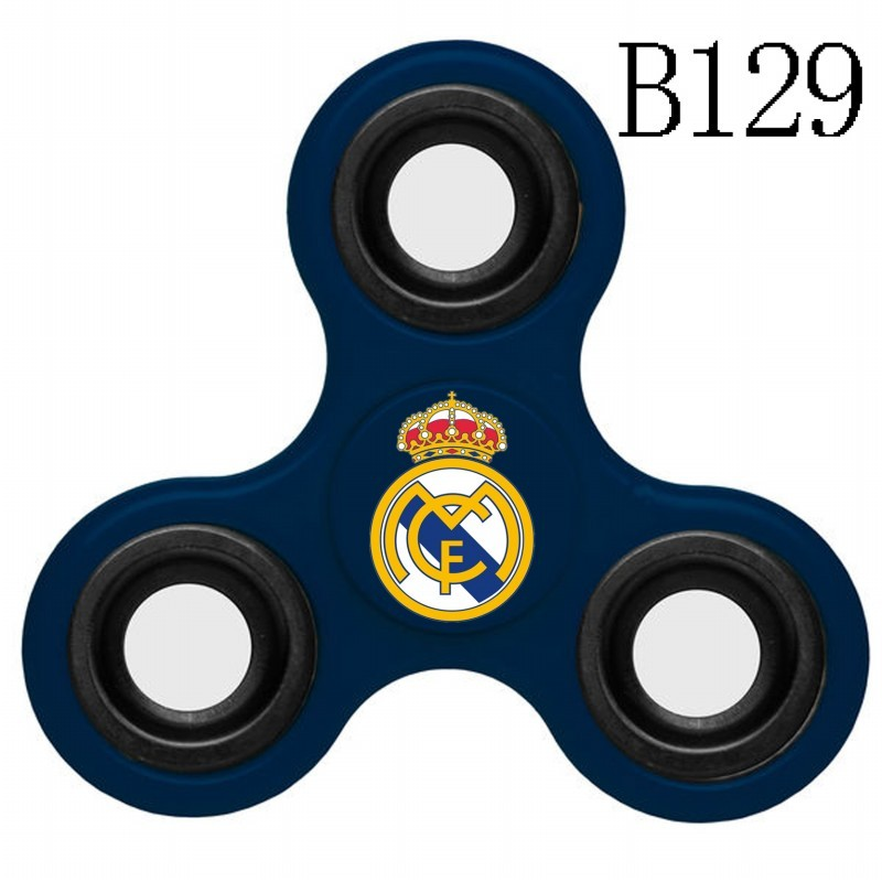 Real Madrid Team Logo Navy 3 Way Fidget Spinner