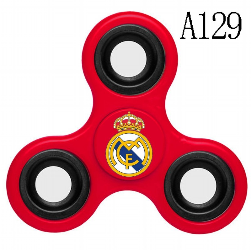 Real Madrid Team Logo Red 3 Way Fidget Spinner