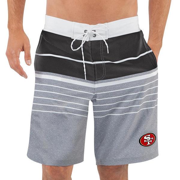San Francisco 49ers NFL G-III Balance Men's Boardshorts Swim Trunks