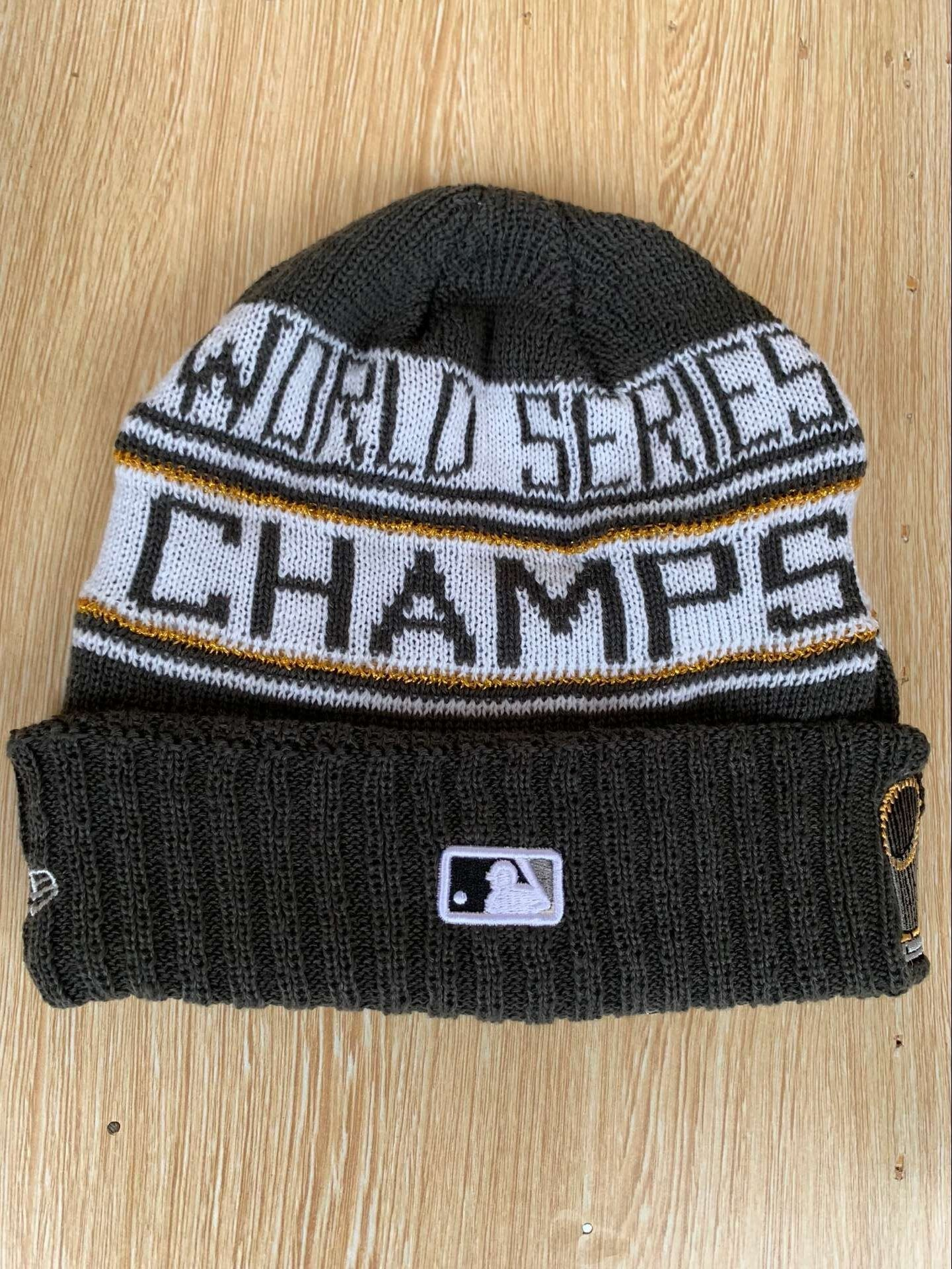 Red Sox 2018 World Series Champions Knit Hat YD
