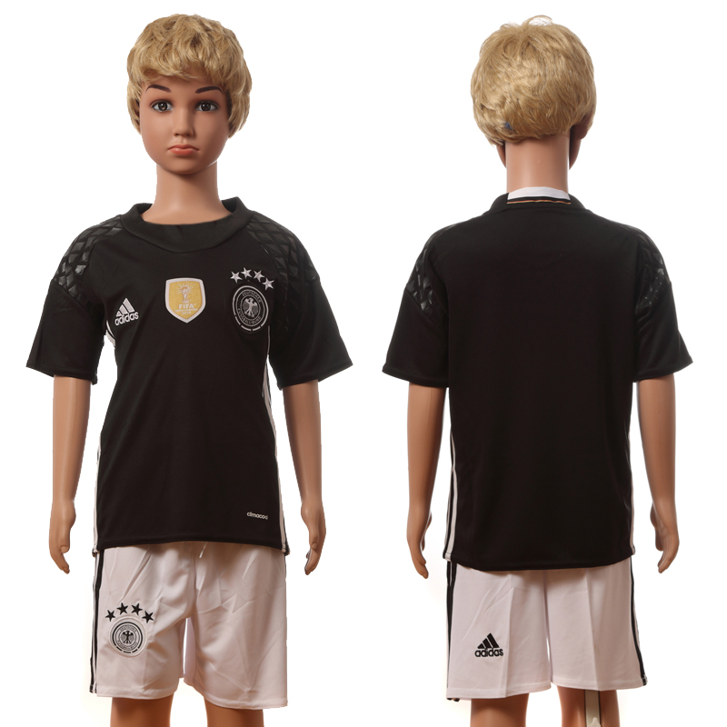 Germany Goalkeeper Youth UEFA Euro 2016 Jersey