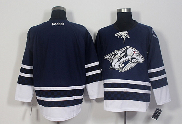 Predators Blank Blue Reebok Jersey