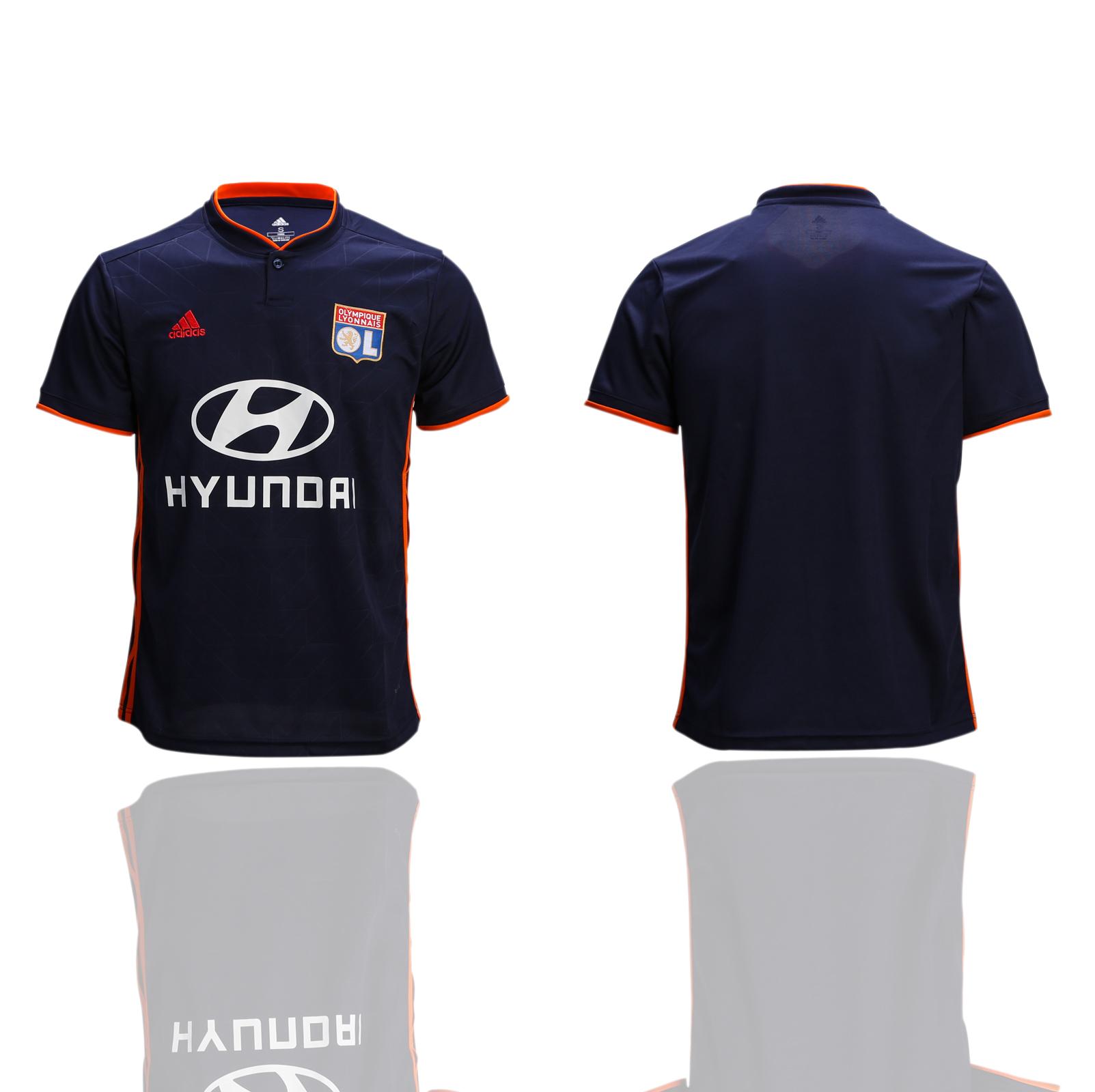 2018-19 Lyon Away Thailand Soccer Jersey
