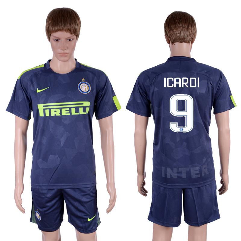 2017-18 Inter Milan 9 ICARDI Third Away Soccer Jersey