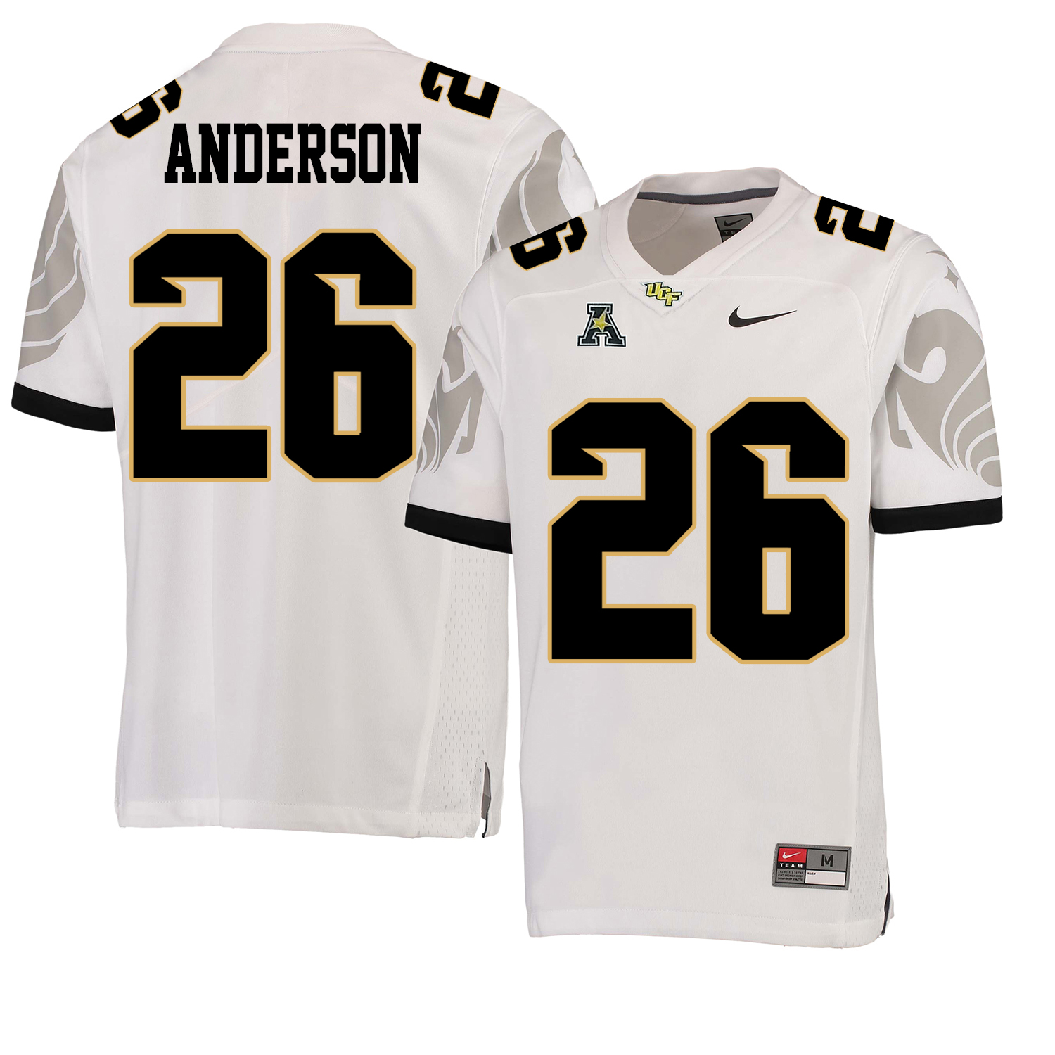 UCF Knights 26 Otis Anderson White College Football Jersey