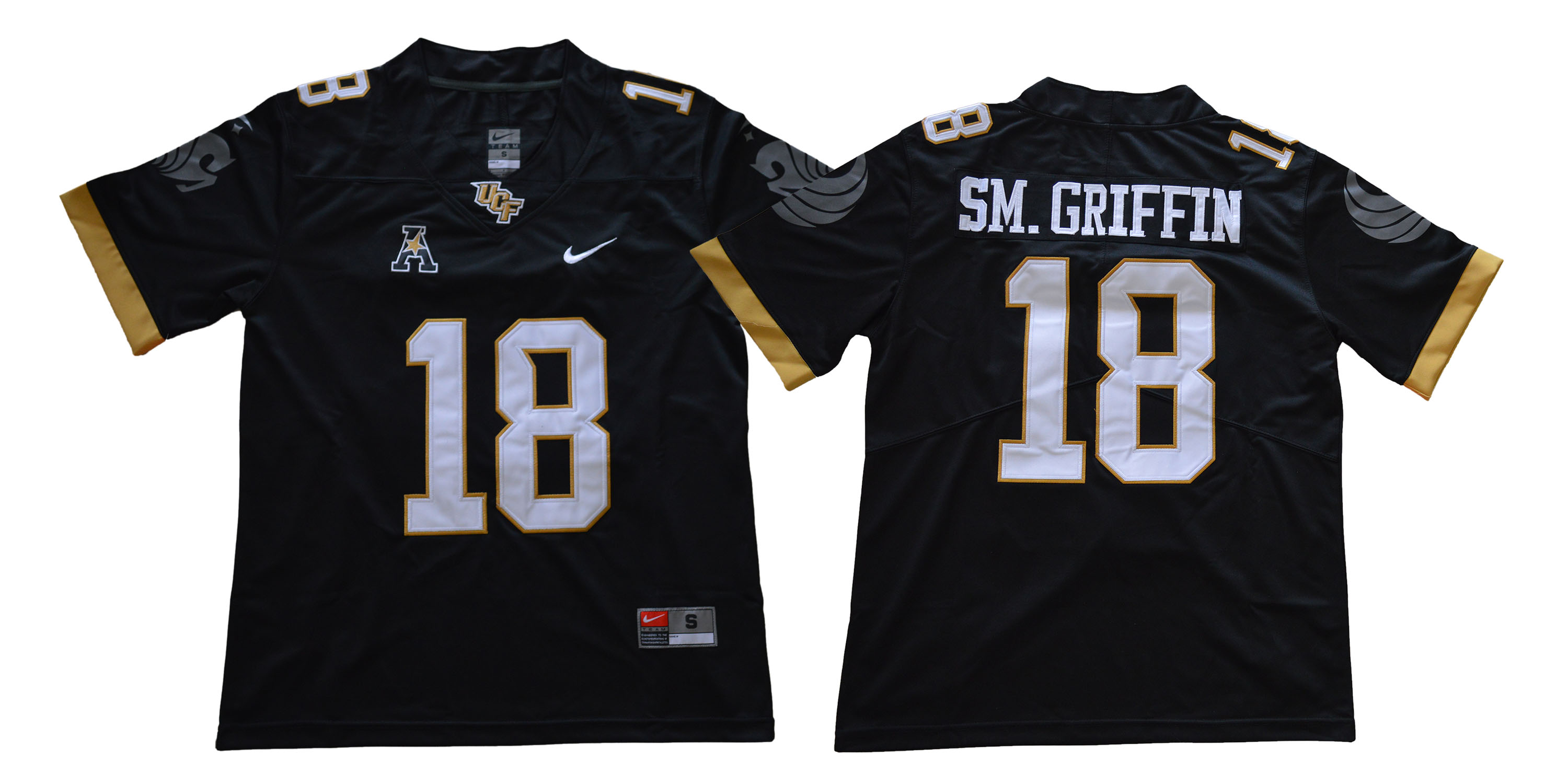 UCF Knights 18 Shaquem Griffin Black College Football Jersey