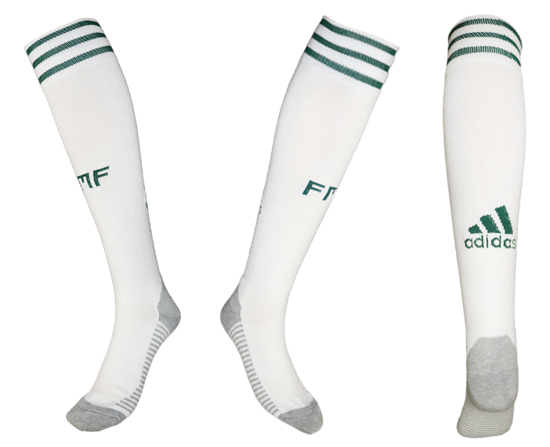 Mexico White Thailand Soccer Socks