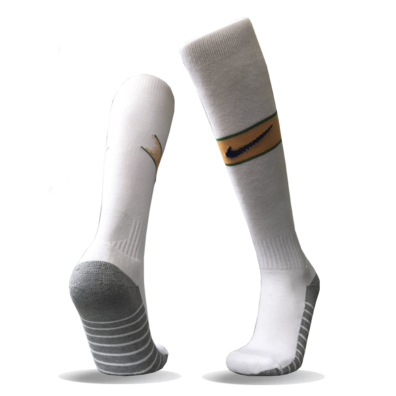Brazil Home Youth 2018 FIFA World Cup Thailand Soccer Socks