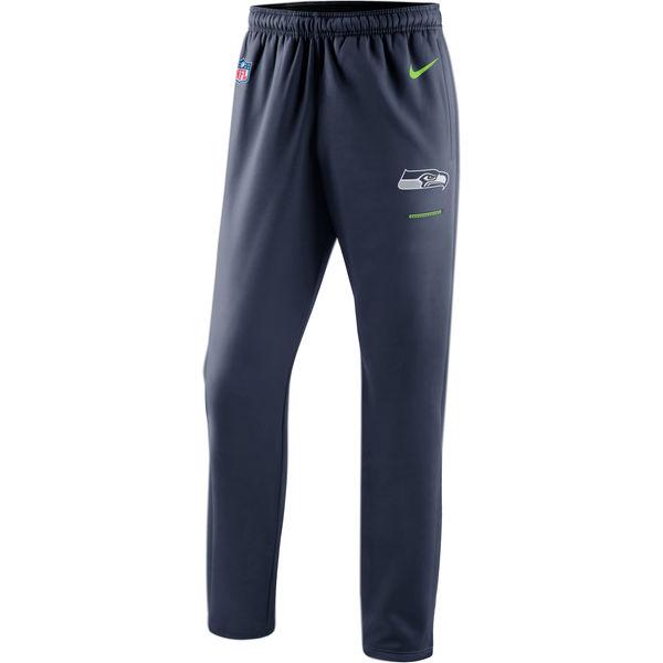 Seattle Seahawks Nike Sideline Team Logo Performance Pants Navy