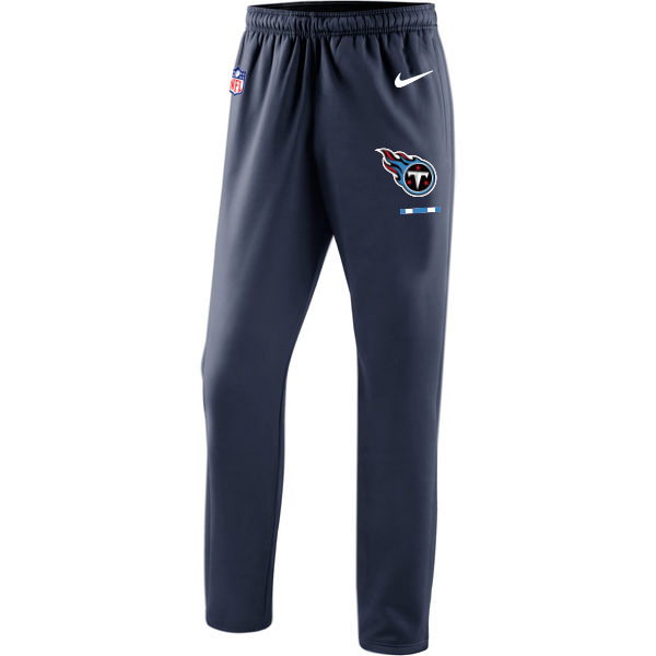 Tennessee Titans Nike Sideline Team Logo Performance Pants Navy