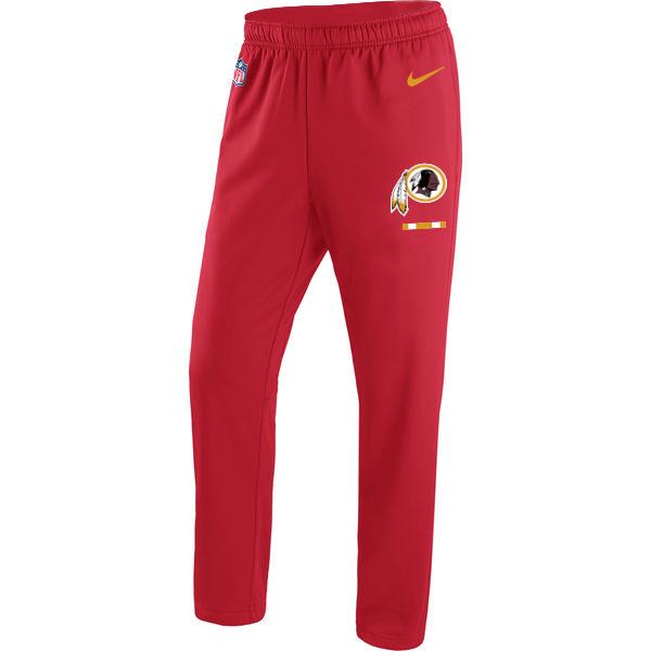 Washington Redskins Nike Circuit Sideline Team Logo Performance Pants Red