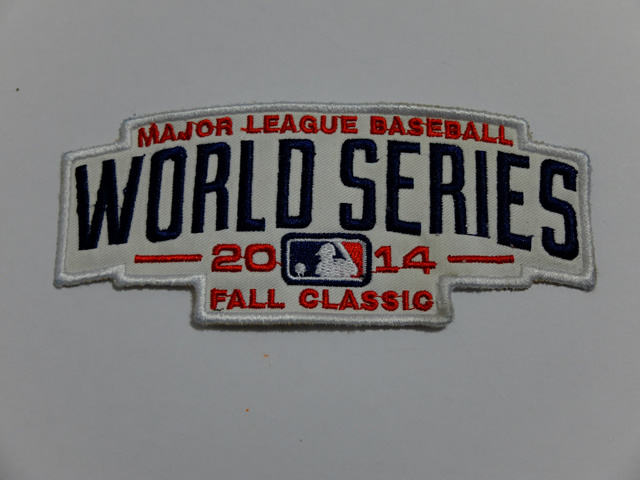 2014 MLB World Series Patch