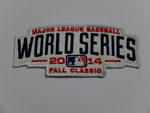 2014 MLB World Series Patch