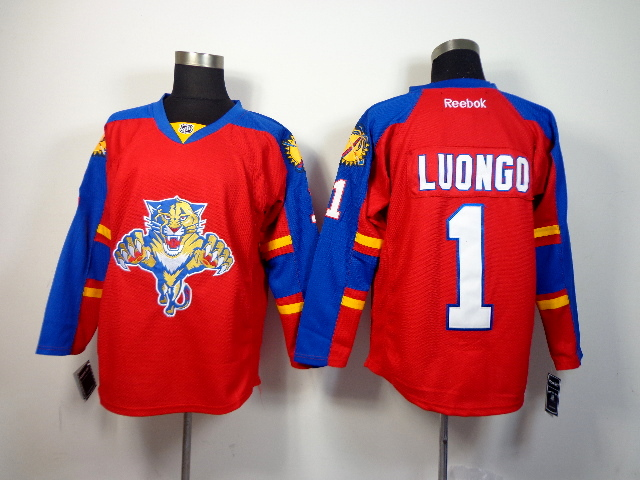 Panthers 1 Luongo Red Jerseys