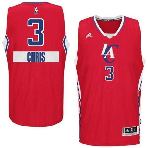 Clippers 3 Chris Paul Red 2014-15 Christmas Day Swingman Jerseys