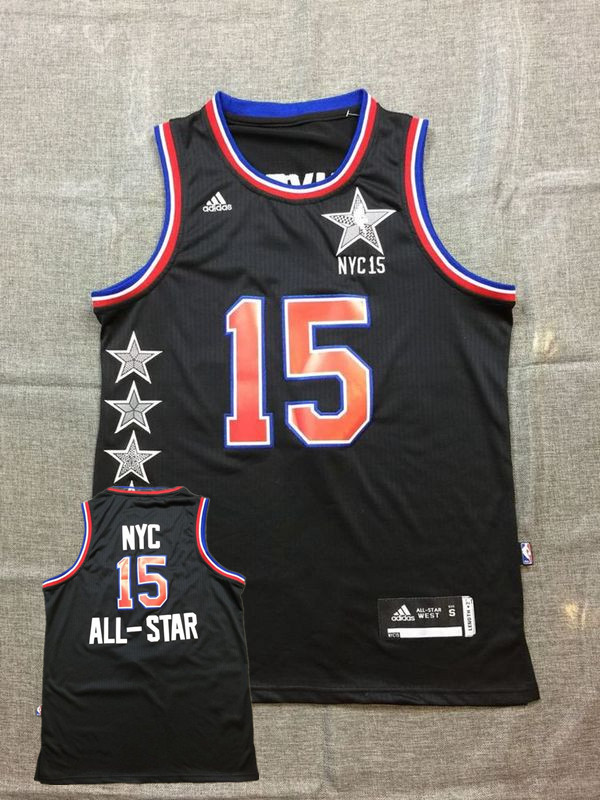 2014-15 NYC All Star Black Basketball Sport Jerseys
