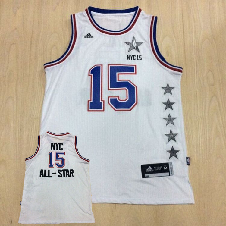 2014-15 NYC All Star White Basketball Sport Jerseys