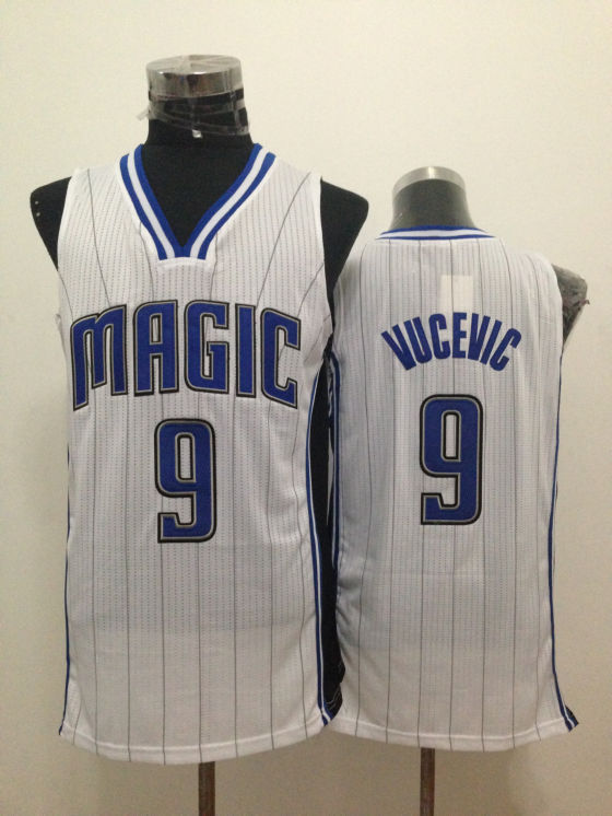 Magic 9 Vucevic White New Revolution 30 Jerseys