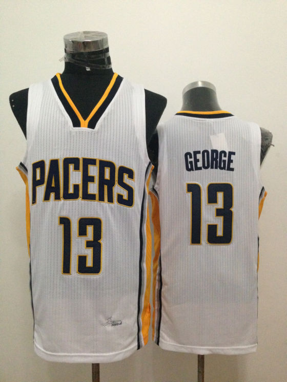 Pacers 13 George White New Revolution 30 Jerseys