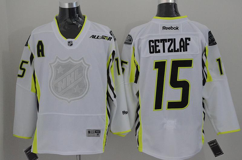Ducks 15 Getzlaf White 2015 All Star Jersey