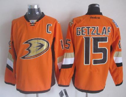 Ducks 15 Getzlaf Orange 2014 Stadium Series Jerseys
