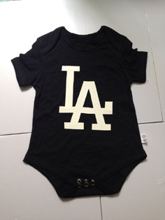 Dodgers Black Toddler T-shirts