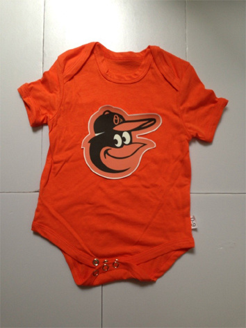 Orioles Orange Toddler T-shirts