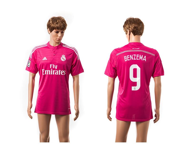 2014-15 Real Madrid 9 Benzema Away Thailand Jerseys