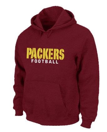 Nike Packers Red Hoodies
