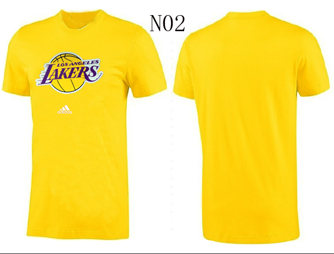 Lakers New Adidas T-Shirts