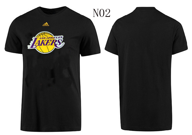 Lakers New Adidas T-Shirts2