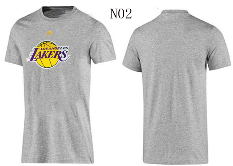 Lakers New Adidas T-Shirts3