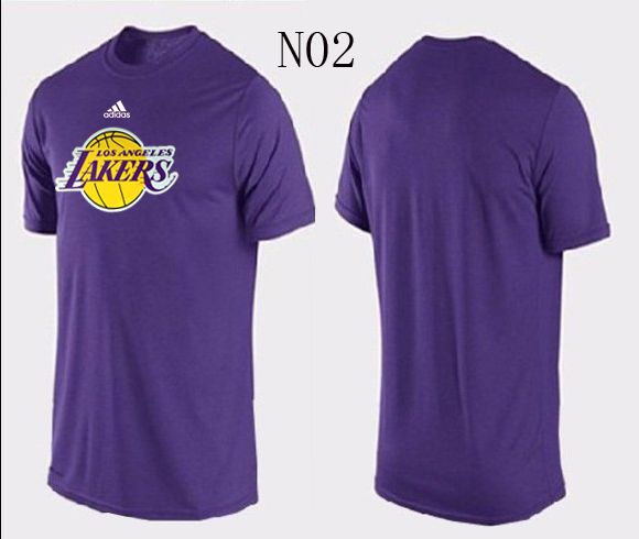 Lakers New Adidas T-Shirts4