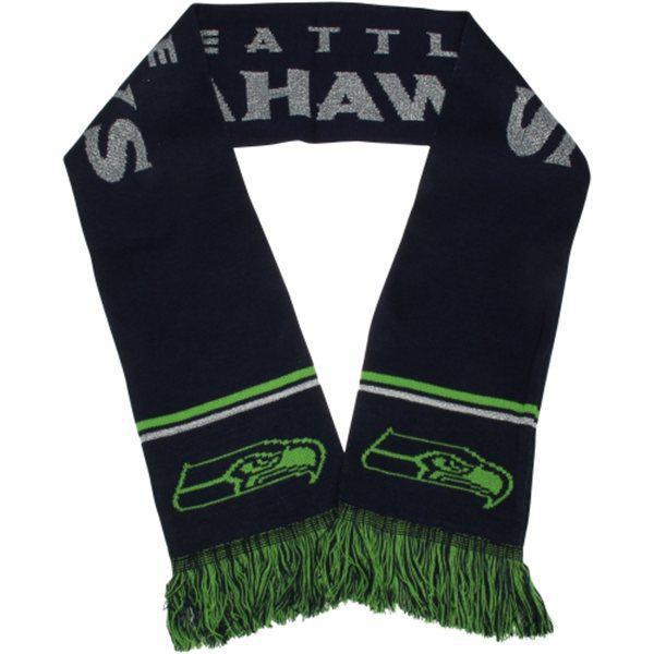 Seahawks Black Fashion Scarf