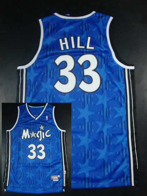 Magic 1 McGrady Blue Hardwood Classics Jerseys