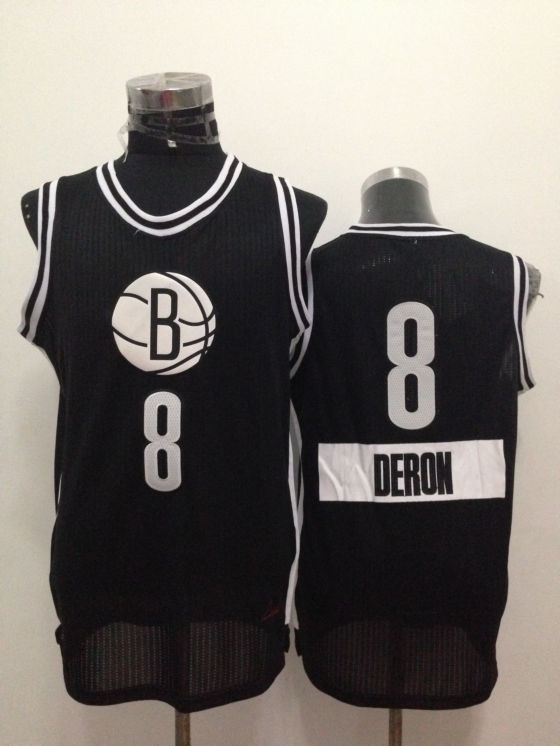 Nets 8 Deron Williams Black 2014-15 Christmas Day Swingman Jerseys