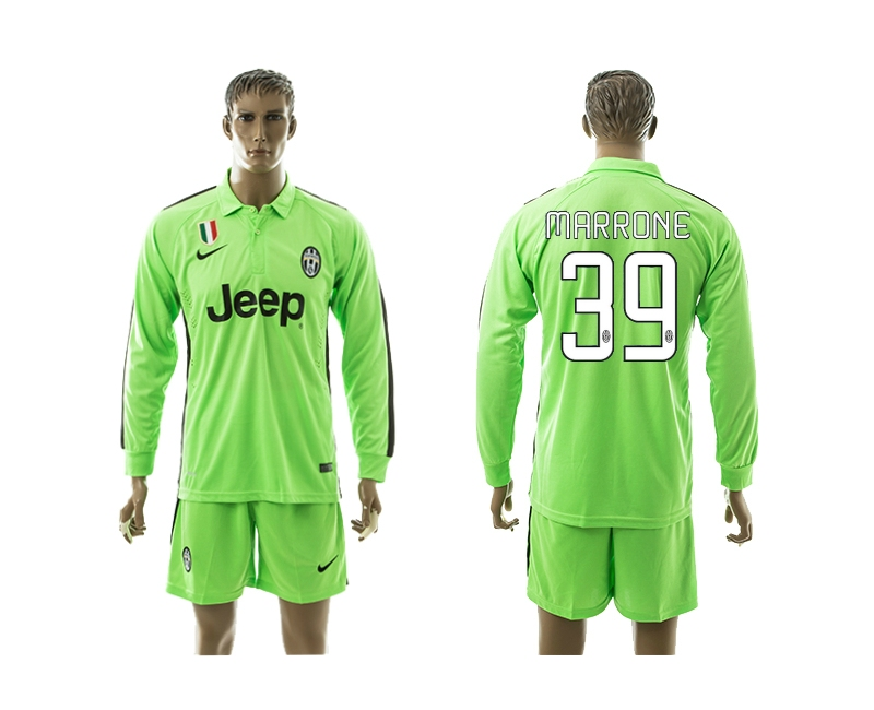 2014-15 Juventus 39 Marrone Third Away Long Sleeve Jerseys