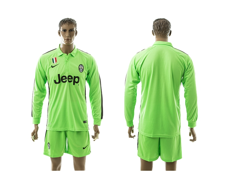 2014-15 Juventus Third Away Long Sleeve Jerseys