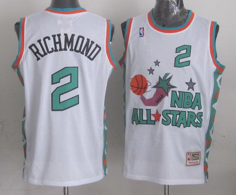 1996 All Star 2 Richmond White Jerseys