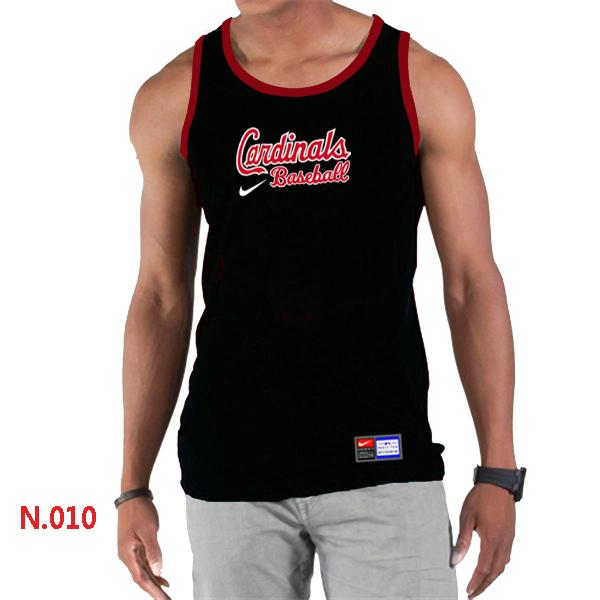 Nike St.Louis Cardinals Home Practice Men Tank Top Black