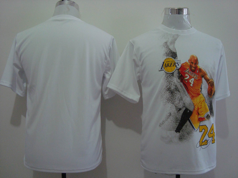 Lakers 24 Bryant White Portrait Jerseys