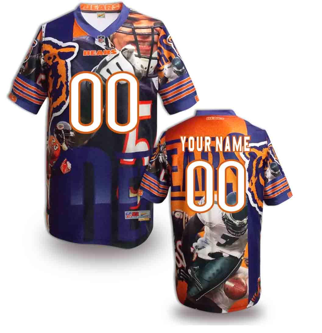 Nike Bears Customized Fashion Stitched Jerseys08
