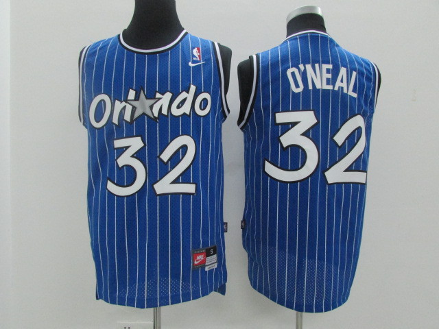 Magic 32 O'Neal Blue Revolution 30 Jerseys