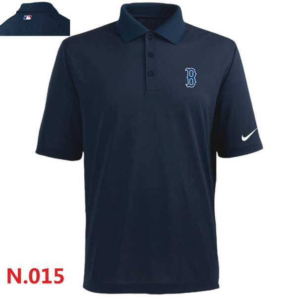 Nike Red Sox Navy Blue Polo Shirt